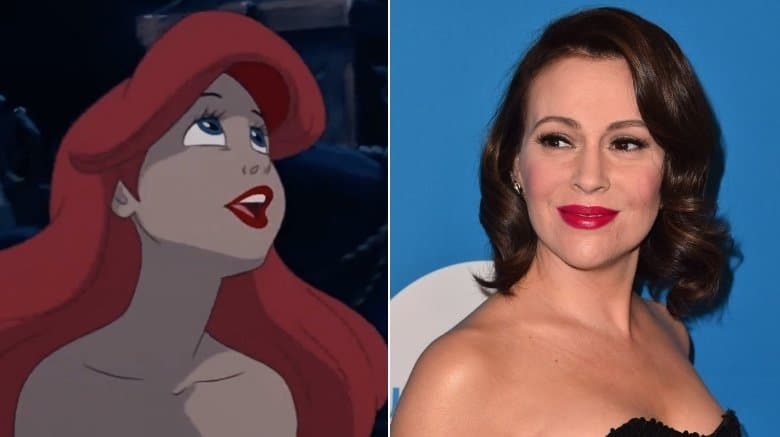 Alyssa Milano - The Little Mermaid